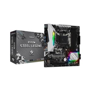 ASRock B450M Steel Legend mATX motherboard AM4 Socket