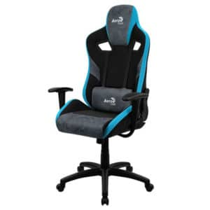 AeroCool COUNT chaise gamer bleu